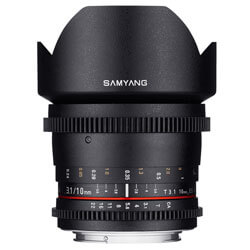 Samyang 10mm T3.1 ED AS NCS CS VDSLR Nikon