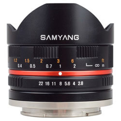 Samyang 8mm f/2.8 UMC Fish-eye Fuji XF II